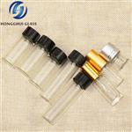 3ml5ml15ml透明玻璃油精瓶铝盖