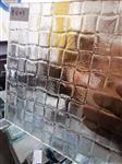 热熔玻璃编织纹 各种艺术玻璃纹路定制