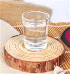一口杯禮品logo定制玻璃小白酒杯