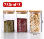 750ml储物罐玻璃密封罐