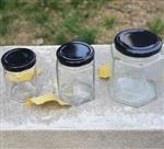 密封玻璃水果罐头瓶