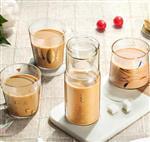 泡茶牛奶玻璃杯 果汁玻璃杯 早餐杯