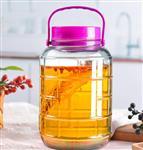 2斤专业方格玻璃泡酒瓶
