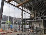 福建福州19厘厚15厘厚酒店售楼部汽车展厅钢化玻璃幕墙