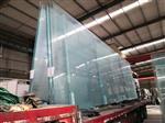 河南超白8毫米10毫米厚夹层夹胶钢化玻璃供应