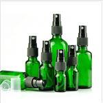 墨绿玻璃酒精消毒喷雾瓶