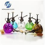 复古小型喷壶浇水壶浇花南瓜玻璃洒水壶园艺喷水壶