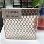 广州同民夹丝玻璃 隔断钢化夹丝玻璃 移门夹丝玻璃