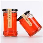 500ml透明玻璃蜂蜜罐