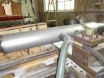 轧辊专用环保喷砂机