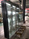 河南郑州10mmlow-e超白+12A+10mm中空钢化玻璃
