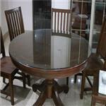 西安鋼化玻璃桌面 定制各種大小玻璃桌面