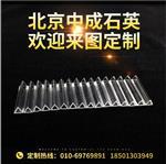 光电、医疗行业实验室激光用三角石英管玻璃保护套管2*2*2
