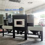 中山玻璃磨砂輸送自動噴砂機