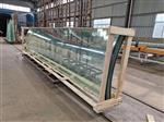 15mm  19mm超大超厚弯钢化玻璃