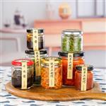 玻璃厂家生产罐头瓶辣椒果酱圆形玻璃瓶子酱菜瓶蜂蜜瓶储物密封罐