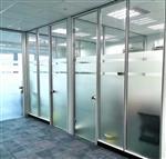 武漢定做辦公室磨砂玻璃隔斷多少錢,武漢柏誠隔斷質優價廉