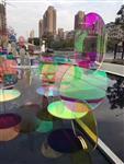 彩色玻璃 彩釉玻璃 彩绘玻璃 艺术玻璃