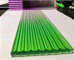 彩釉玻璃   绿色烤漆玻璃 绿色防滑玻璃