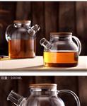 耐高温玻璃水壶泡茶煮茶加厚花茶茶壶单壶烧水用大容量耐热茶具