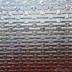 广州嘉颢 厂家供应4mm5mm6mm热熔玻璃波浪纹多样凹凸压花玻璃定制