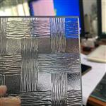 压花玻璃 压花钢化玻璃 彩色压花夹丝玻璃 格美特长虹玻璃