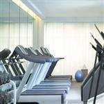 健身房活动隔断镜子