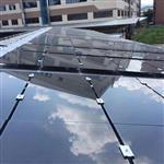 80w太阳能环保发电玻璃