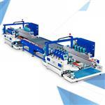 佛山玻璃机械 直线型自动圆边磨边生产线  双边磨边机