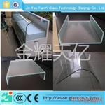 U型玻璃槽型玻璃双直角热弯玻璃