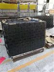 深圳厂家订制12厘茶色格子热熔玻璃,可钢化。