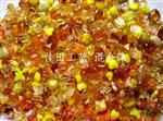 黄色混合压件珠混合珠玻璃珠