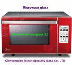 微波炉耐热钢化玻璃
