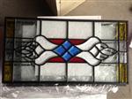 镶嵌装饰玻璃/木门镶嵌玻璃/中空铁艺玻璃