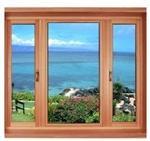 铝包木门窗玻璃加工