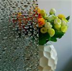 压花玻璃-水珠