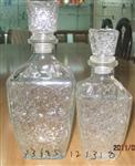 各种酒瓶加玻璃瓶塞