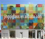 彩色建筑幕墙玻璃