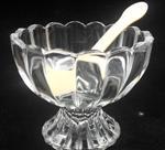 热销高档冰激凌玻璃杯