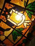 深圳烤漆教堂钢化超白艺术玻璃