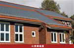 屋顶专用玻璃瓦钢化