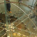 5-19mm防滑弯钢玻璃