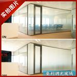 智能玻璃通电透明
