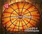上海圆博制作彩色玻璃穹顶个性定制