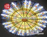 圆博工艺个性定制彩色玻璃穹顶厂家制造