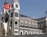 彩绘教堂玻璃彩色教堂玻璃制造厂家上海圆博工艺