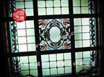 圆博工艺彩色玻璃穹顶厂家