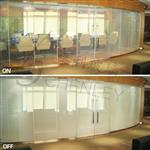 办公隔断智能调光玻璃