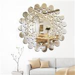 丽晶 壁挂装饰镜沙发背景墙挂镜玄关艺术墙饰店面装饰定做