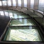 景观走廊专用防滑玻璃夹胶安全钢化玻璃厂家